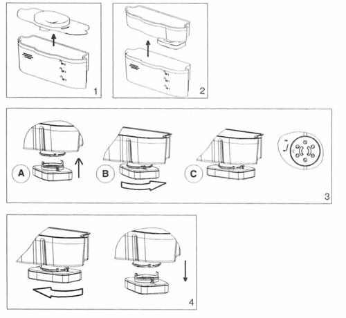 filtre frigo aqua whirlpool grv001 grv002 filtre eau cle006411. Black Bedroom Furniture Sets. Home Design Ideas